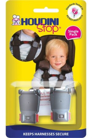 Houdini Strap Stop in black