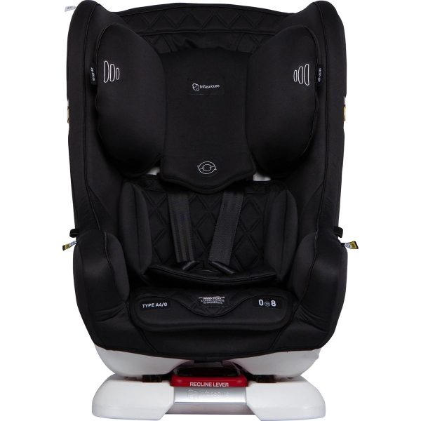 Infasecure Achieve car seat in black fabric