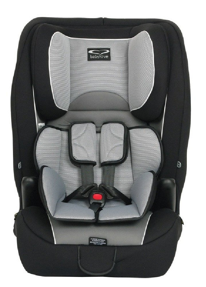 Babylove Ezygrow Car Seat Black and Grey