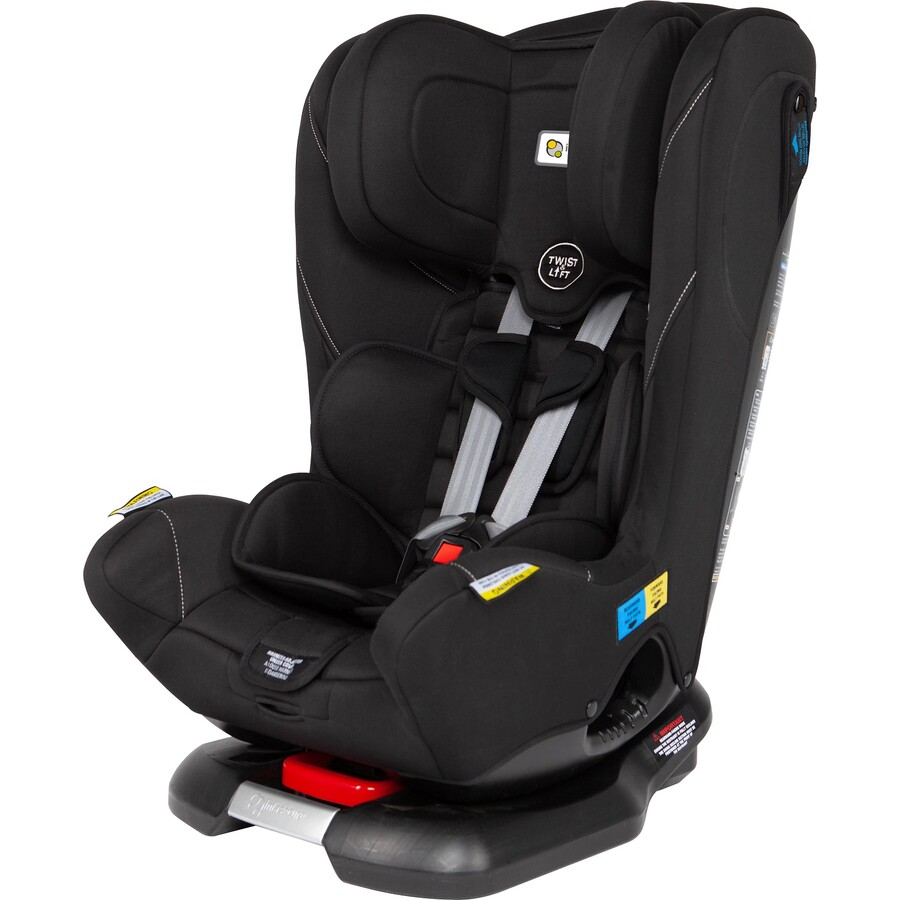 Black 0-8 Infasecure Emperor convertible  child restraint one of the Best Big W Car seats for ages newborn to 8 years