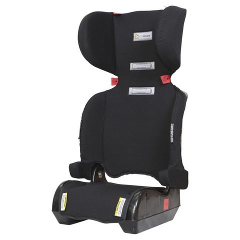 black kmart booster seat Infasecure Foldaway travel car seat